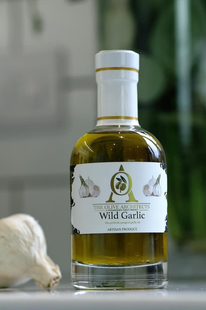 Wild Garlic Infused Olive Oil