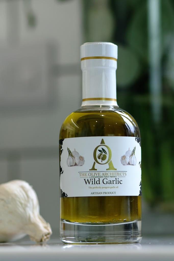 Wild Garlic Infused Olive Oil